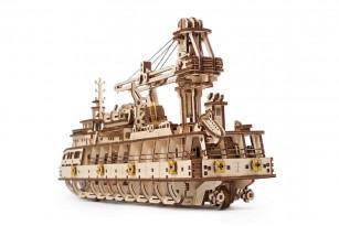 Механическая модель «Научно-исследовательское судно»