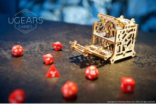 Хранилище дайсов: девайс для настольных игр