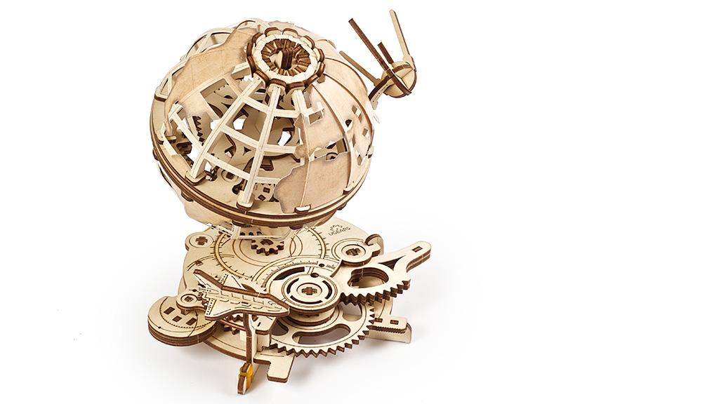 3D механический пазл «Глобус»