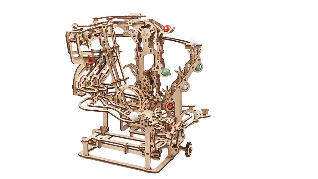 Механическая модель Марбл-трасса Цепной подъемник