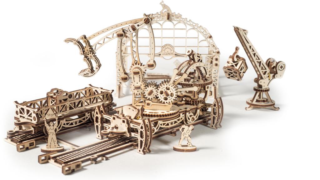 Модель «Маніпулятор на рейках»