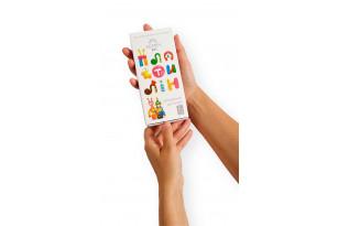 Пластилін дитячий «Gearsy Art», набір із 6 кольорів