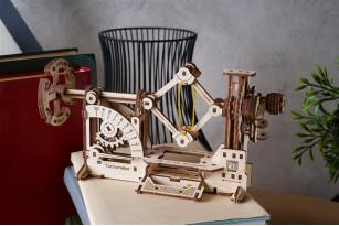 Механічна STEM-модель «Тахометр»