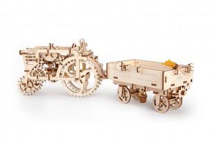 Механический 3D пазл «Прицеп»