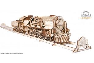 Механическая модель Локомотив c тендером V-Экспресс