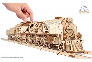 Механічна модель Локомотив з тендером V-Експрес