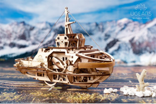 Механічна модель «Буксир»