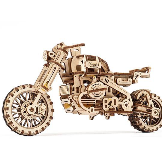 Мотоцикл Scrambler UGR-10 з коляскою
