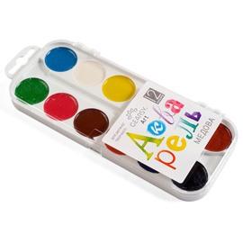 Акварель «Gearsy Art», 12 кольорів